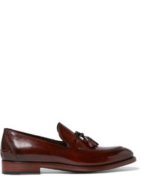 Paul Smith Haring Polished Leather Tasselled Loafers