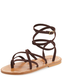 Zenobie crisscross lace up sandal medium 218908