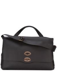 Flap closure tote bag medium 922971