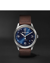 Bell & Ross Br V1 92 Automatic 385mm Steel And Leather Watch