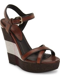 Burberry Whelan Wedge Sandal