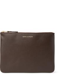 Comme des garons leather pouch medium 417025
