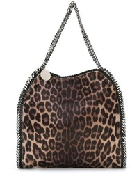 Falabella leopard tote medium 344799