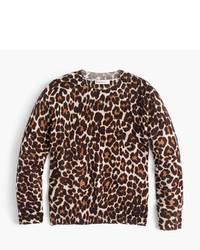 J.Crew Girls Leopard Print Popover Sweater