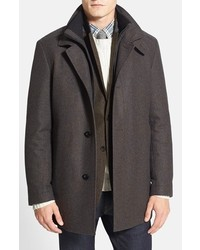 BOSS Coxtan Wool Blend Overcoat