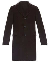 Massimo Alba Notch Lapel Single Breasted Coat