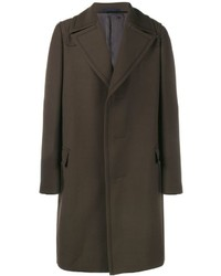 Lanvin Notched Lapel Overcoat