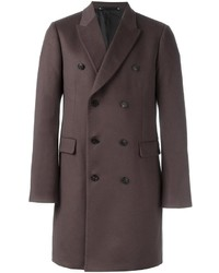 Paul Smith Double Breasted Mid Coat