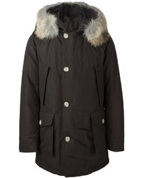 Fur trimmed parka medium 835470