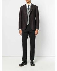 Eleventy Fitted Tweed Blazer
