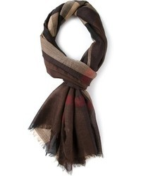Burberry Chestnut Check Scarf