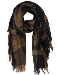 Plaid scarf medium 356048