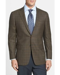 Hart Schaffner Marx New York Classic Fit Plaid Sport Coat