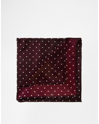 Asos Brand Pocket Square With Polka Dot