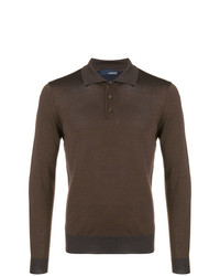 Lardini Fitted Polo Shirt
