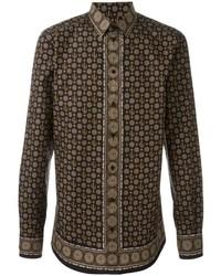 Dolce & Gabbana Cactus Print Shirt