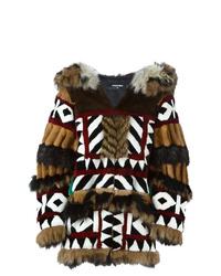 Dsquared2 Led Fur Coat