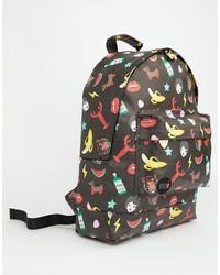 Mi-pac X Tatty Devine Iconic Print Backpack