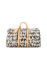Louis Vuitton Vintage Keepall 50 Graffiti Travel Bag