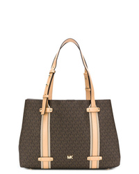 eb0e4aec8fc58 Women s Dark Brown Leather Tote Bags by MICHAEL Michael Kors ...