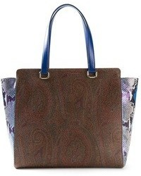 Paisley print tote medium 30782