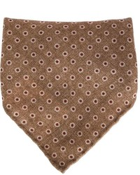 Brunello Cucinelli Dotted Print Pocket Square