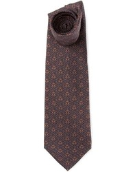 Hermes Herms Vintage Printed Tie