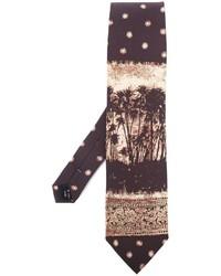 Jean Paul Gaultier Vintage Palm Tree Tie
