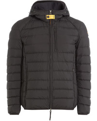 Dark Brown Puffer Jacket