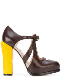 Fendi Cut Out Pumps