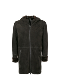 Giorgio Brato Hooded Shearling Jacket