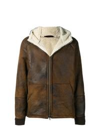 Salvatore Santoro Hooded Shearling Jacket
