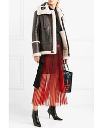 Balenciaga Le Bombardier Oversized Shearling Jacket