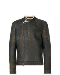 Salvatore Santoro Shearling Fitted Coat
