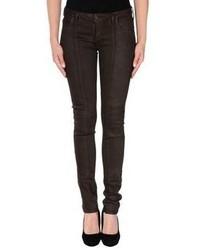 Dark Brown Skinny Jeans