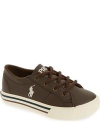 Ralph Lauren Kids Scholar Sneaker