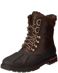 Dark Brown Snow Boots
