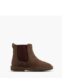 J.Crew Kids Oiled Suede Chelsea Boots