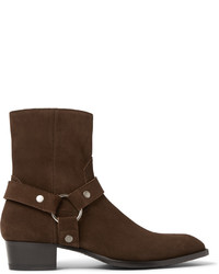 Suede harness boots medium 573977