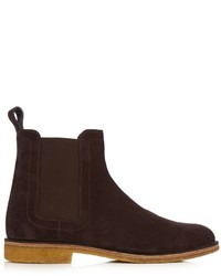 Panelled suede chelsea boots medium 959462