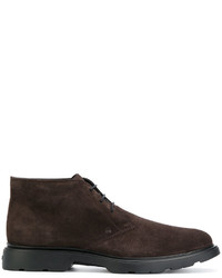 Hogan Mid Top Lace Up Derby Shoes