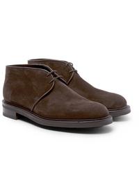 John Lobb Grove Suede Chukka Boots