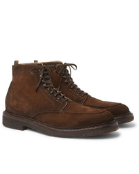 Officine Creative Stanford Burnished Suede Boots