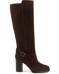 Tod's Buckled Knee High Boots