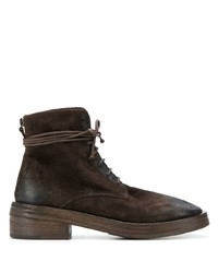 Marsèll Distressed Style Lace Up Boots