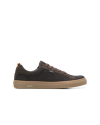 Hackett Panelled Lace Up Sneakers