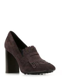 Tod's Fringed Pumps