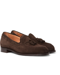 Cheaney Harry Suede Tasselled Loafers