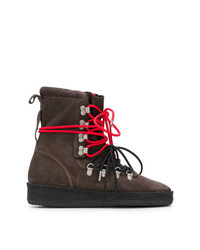 Represent Contrast Lace Hiking Style Boot