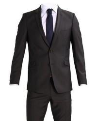 Strellson Allen Mercer Slim Fit Suit Brown